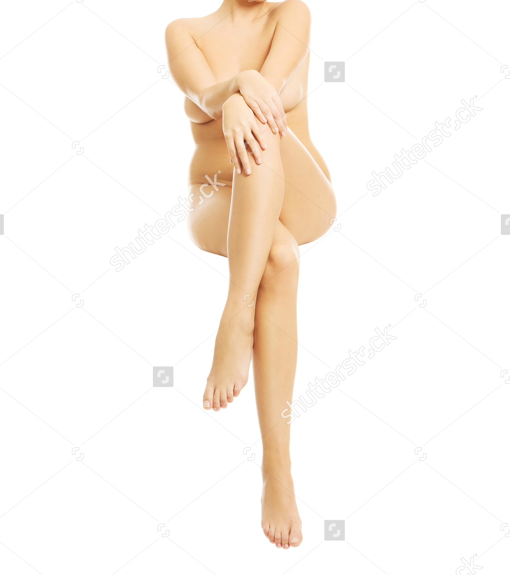Nude Woman Sitting On Something Invisible 1.png
