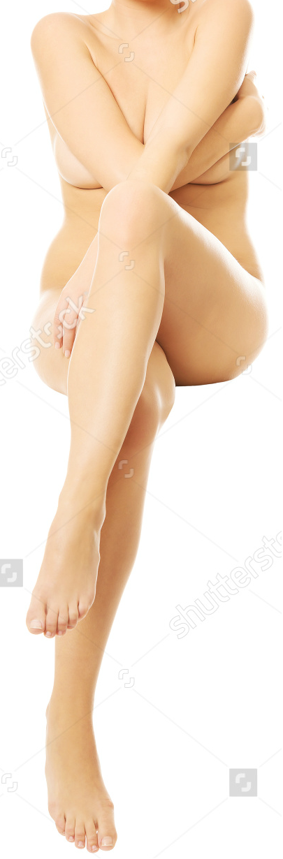 Nude Woman Sitting On Something Invisible 2.png