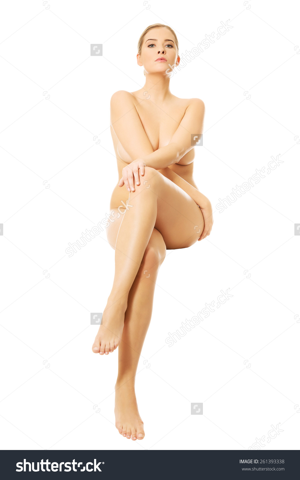 Nude Woman Sitting On Something Invisible.jpg